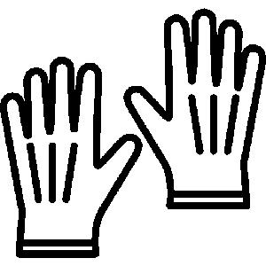 Дитячі рукавички для дівчинки