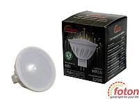 Светодиодная лампа MR16, 220V 6W, фото 1