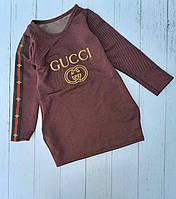 Плаття-туніка дитяча GUCCI для дівчинки розмір 4-10 років,колір уточнюйте при замовленні