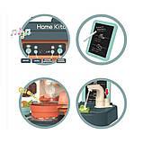 Дитяча велика інтерактивна кухня 889-183 плита, духовка звук, світло посуд продукти 43 предмета, фото 4