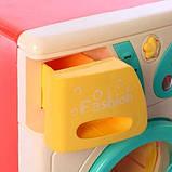Детский игровой набор бытовой техники 7929 стиральная машина утюг, фото 3