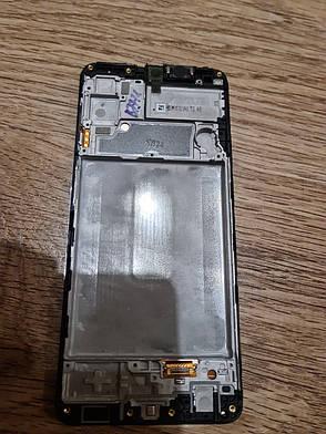 Дисплей для Samsung A225 Galaxy A22 Service pack Black #GH82-25944A/GH82-26047A, фото 2