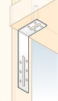 Перфорированный крепеж - уголки равносторонние и регулируемые