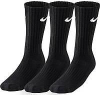 Спортивные носки Nike 3PPK Value Cotton SX4508-001 Черный L (42-46)