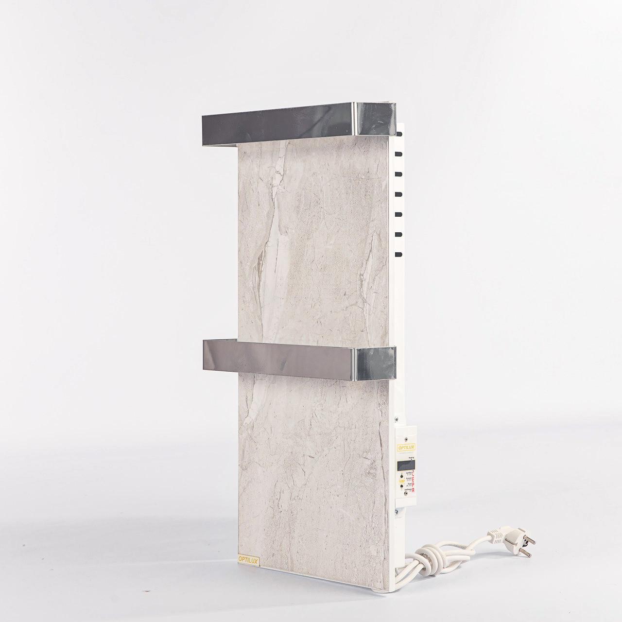 Полотенцесушитель керамічний Optilux РК330НВ (сірий)