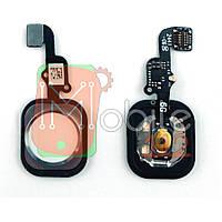 Шлейф Apple iPhone 6, iPhone 6 Plus з кнопкою меню Home білий AAA