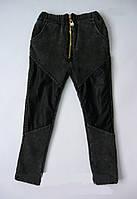 Теплые обтягивающие джинсы skinny, унисекс. 100 см, фото 1
