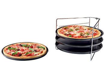Набір форм для випічки піци zenker 4 шт.