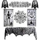 Текстиль для Halloween (скатерти, шторы)
