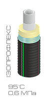 Предизолированные трубы Изопрофлекс 110/145 1,0 Мпа
