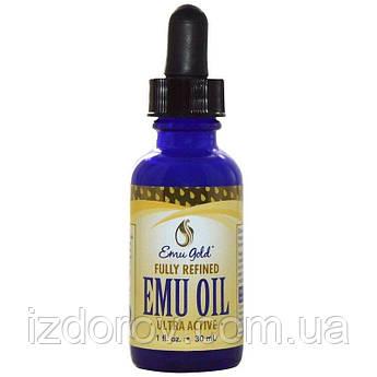 Emu Gold, Масло Эму, Emu Oil, 1 жидкая унция (30 мл)