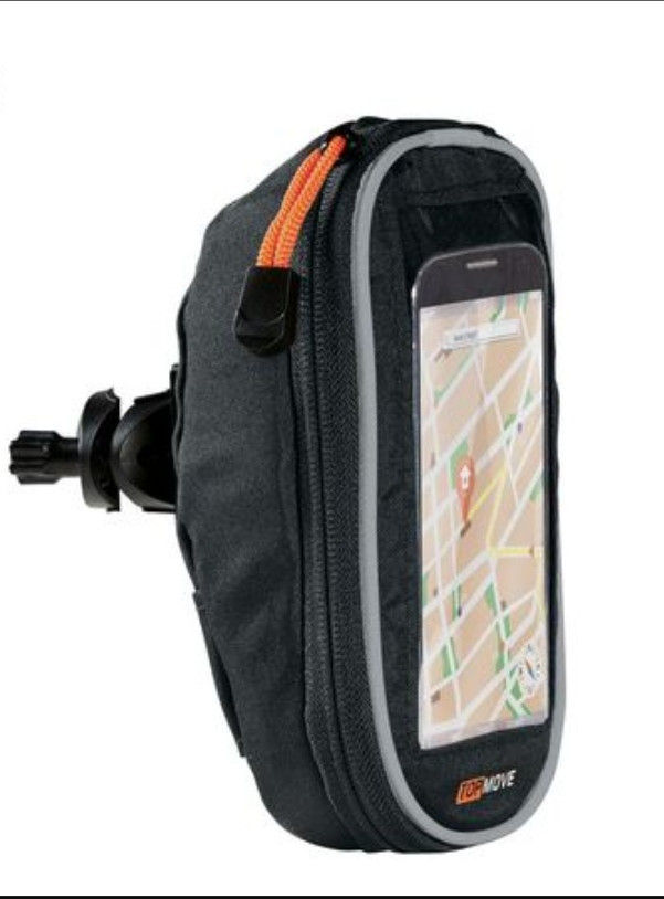 Велосипедный держатель TOPMOVE для смартфона размером до 12,4х6,5 см Германия