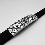 """Славянский браслет-оберег """"Валькирия"""" на вышиванке, серебро 925 пробы, фото 2"""