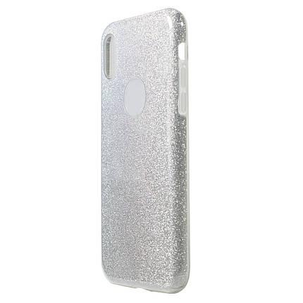 Чохол для телефону Huawei Honor 7CPro Silicone + Plastic Silver Dream, фото 2