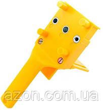 Меблевий кондуктор для свердління отворів під фурнітуру, жовтий