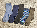 Якісні щільні підліткові бавовняні шкарпетки від tcm Tchibo (чібо), Німеччина, розмір 35-38, фото 4
