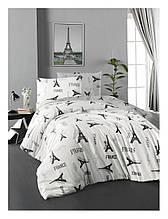Комплект постельного белья ТМ First Choice ранфорс молодежный  Paris