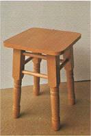 Табурет Барвинок деревянный, фото 1