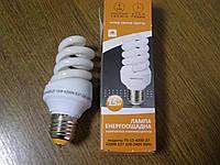 Лампа энергосберегающая 15 Вт, 4200 К, Е27, 220-240 Евросвет