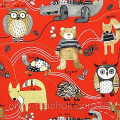 Ткань для штор в детскую Nature trail Prestigious Textiles
