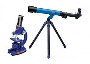 Детский набор 2в1 микроскоп и телескоп С2109, фото 2
