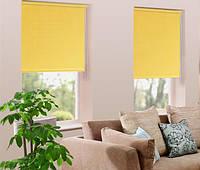 Ролеты тканевые желтый 52Х170 см Эскар Y-52170