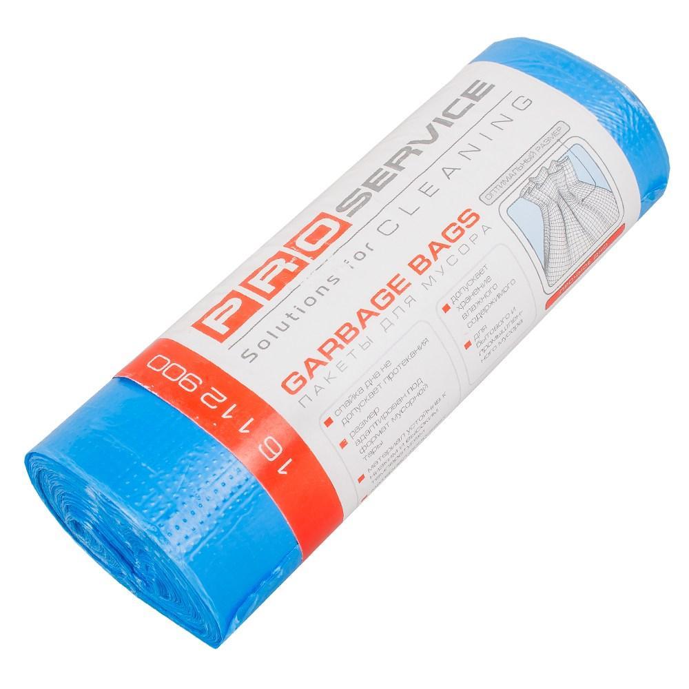 Пакеты для мусора, PRO, HD, синие, 35л (30шт)