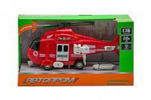 """Вертоліт музичний із серії """"Автопром"""", червоний"""