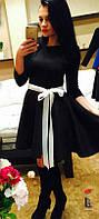 Женское Платье Р.40-54 *Разные Цвета* Французский Трикотаж, фото 1