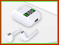 Беспроводные сенсорные наушники TWS i99 с кейсом подзарядки и встроенным экраном Shuvek