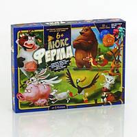 Игра настольная большая Ферма ЛЮКС G-FL-01-01 Danko Toys Shuvek