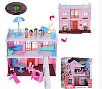 Игрушечный домик KB99 33 A с мебелью и фигурками Shuvek
