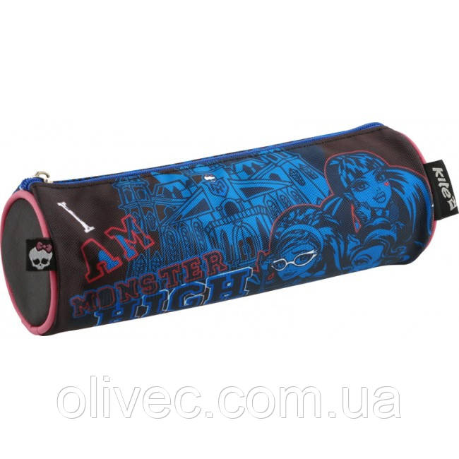 "Пенал-тубус ""Kite"" с 1 отделением. ""Monster High"". 20х6,5х6.5 см"