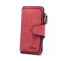 Красный женский кошелек Baellerry N2345 клатч портмоне балери баллери Shuvek
