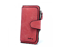 Женский замшевый кошелек Baellerry Forever N2345 клатч портмоне балери баллери Shuvek