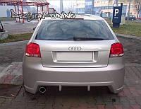 Бампер задний Audi A3(8P)