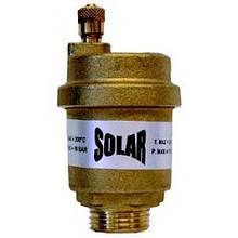 """Воздухоотводчик SOLAR 1/2"""" для гелиосистем (+180 С) Malgorani(Италия)"""