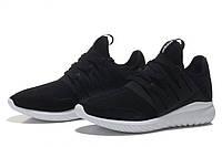 Кроссовки мужские Adidas Tubular Flyknit черные