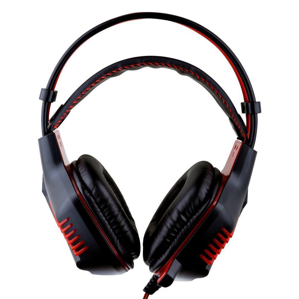 Наушники Borofone BO101 PC Racing игровая гарнитура Черно-Красный