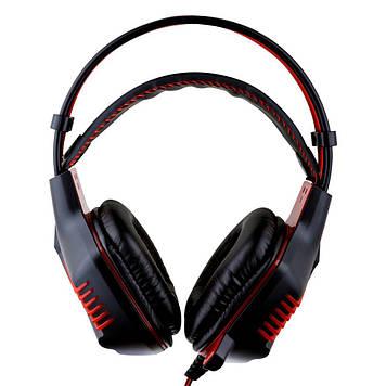 Навушники Borofone BO101 PC Racing ігрова гарнітура Чорно-Червоний