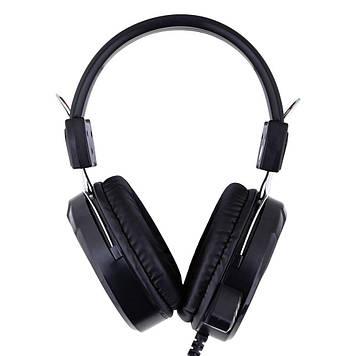 Навушники PC JEQANG Kiren EJ-G12 комп'ютерна гарнітура Чорний