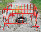 Барьерное дорожное переносное ограждение ОСНОВА 1500 мм, фото 5