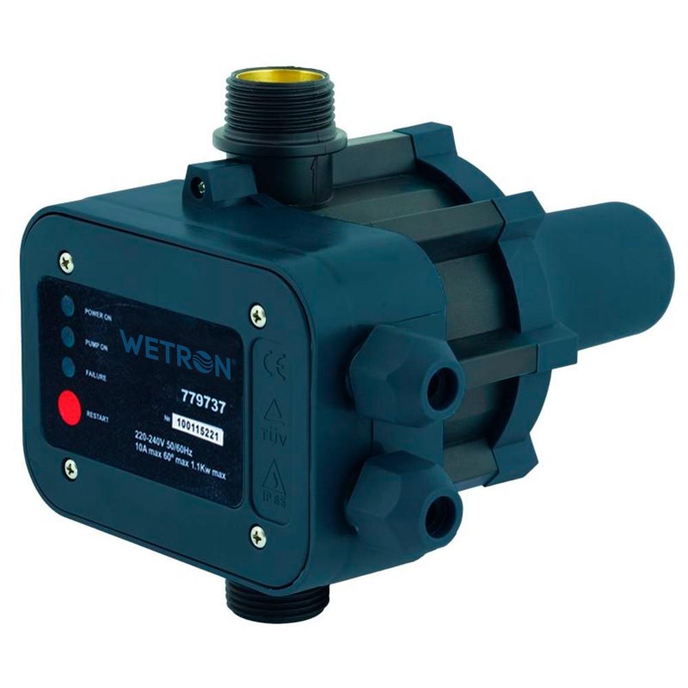 Контролер тиску електронний 1.1 кВт Ø1 рег давл вкл WETRON (779737)