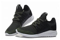 Кроссовки мужские Adidas Tubular Flyknit хаки