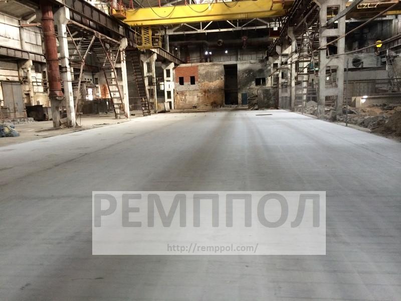 Упрочнение и обеспыливание бетонного пола