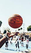 М'яч баскетбольний Spalding NBA Replica Indoor Outdoor Ball Game 28.5 оригінал розмір 6 композитна шкіра, фото 2