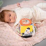 """Розвиваюча іграшка-кубик колекції """"саванна"""" - веселі звірята, фото 4"""