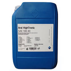 Моторне масло Aral HighTronic 5W-40 20л