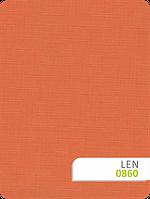 Рулонные жалюзи Len 0860 терракот