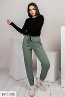 Молодежные женские брюки  в спортивном стиле р-ры 42-44,46-48